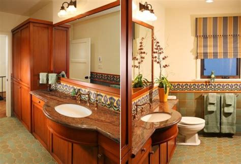 Design A Stunning Spanish Bathroom