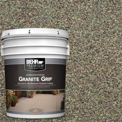 Grip Flooring Home Depot by Behr Premium 5 Gal Gg 12 Imperial Jade Granite Grip