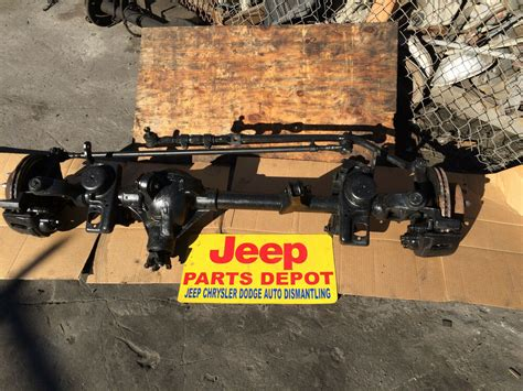 1997 2006 jeep wrangler tj oem front differential assy complete axle 30 307 ebay