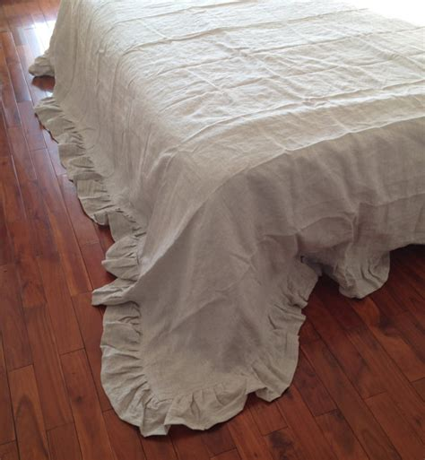 shabby chic linen bedding shabby chic pre washed 100 natural flax linen bedding sheet