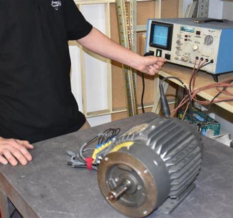 testing   phase motor