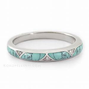 Pin by nikki artigas on my style pinterest turquoise for Mens turquoise wedding rings