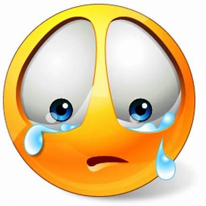 Crying Sad Face Clipart Away Clip Tears