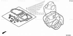 Honda Atv 2007 Oem Parts Diagram For Gasket Kit B