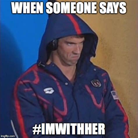 Michael Phelps Memes - micheal phelps death stare imgflip