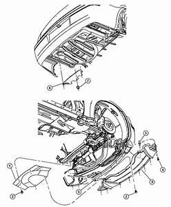 2006 Dodge Magnum Srt8 Srt8 6 1l Hemi Srt V8 Belly Pan