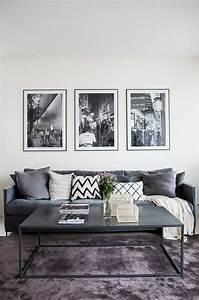 Mur Blanc Et Gris : 5 fa ons de d corer vos murs avec le poster personnalis ~ Preciouscoupons.com Idées de Décoration