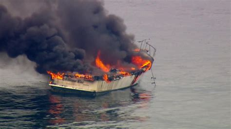 Fire Boat Pics by Boat Rescue Off The Coast Of Malibu Canyon News