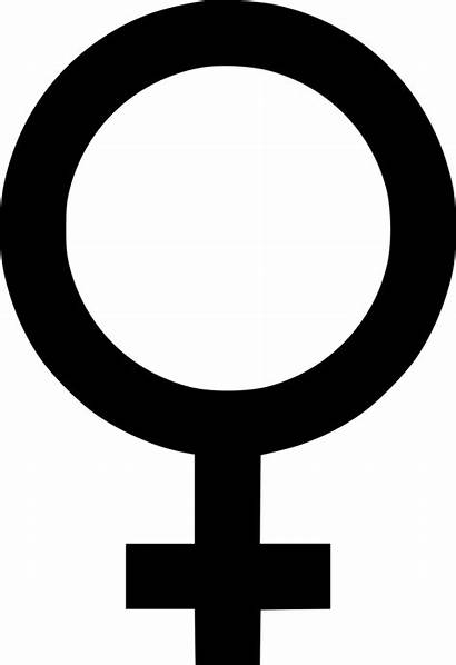 Icon Svg Gender Symbol Female Woman Cinsel