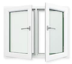 side hinged window noise insulating windows  doors