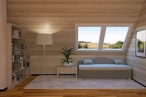 Come arredare un sottotetto abitabile piccolo e moderno