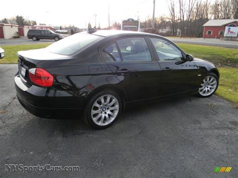 328xi Bmw by 2007 Bmw 3 Series 328xi Sedan In Jet Black Photo 4