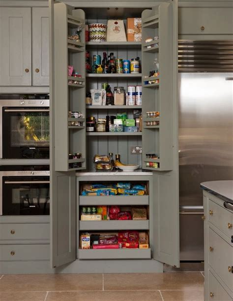 Shelves For Kitchen Cupboards by Kitchen Pantry Cabinet Shallow Shelves On Top