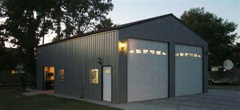 absolute steel structures diy construction metal garage