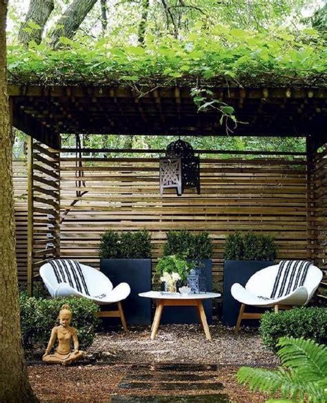 Coin Jardin by Beautiful Salon De Jardin Zen 14 Coin D 233 Tente Sous Une