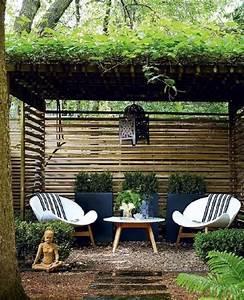 best salon de jardin japonais photos nettizenus With delightful faire un jardin zen exterieur 6 la decoration exterieure avec un treillis de jardin