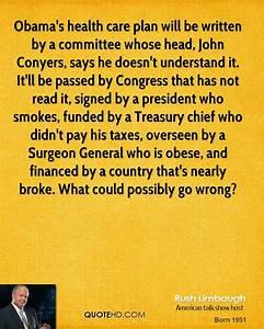Obama Health Ca... Care Plan Quotes