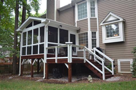 Adding A Small Screened Porch