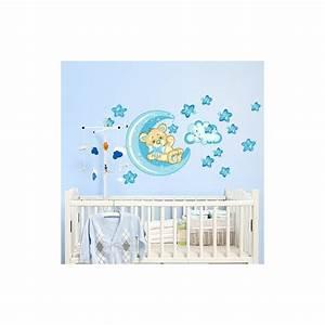Sticker Chambre Bebe : stickers chambre b b ourson pour un sommeil panoui ~ Melissatoandfro.com Idées de Décoration