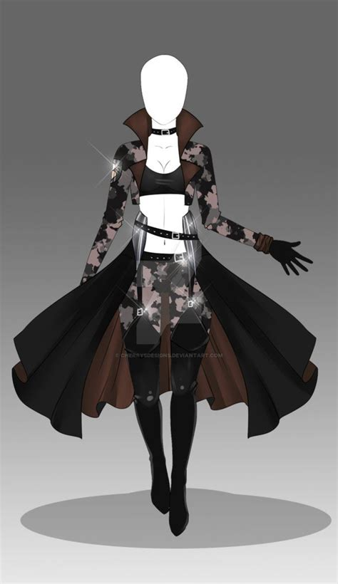 (closed) Auction Adopt - Outfit 197 by CherrysDesigns on DeviantArt | Dibujos y dideu00f1os ...