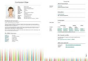 curriculum vitae template word 2013 50 free microsoft word resume templates for