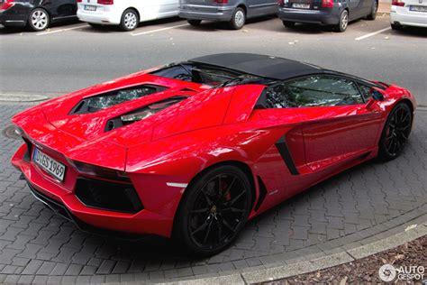 lamborghini aventador lp700 4 roadster red lamborghini aventador lp700 4 roadster 13 september 2014 autogespot