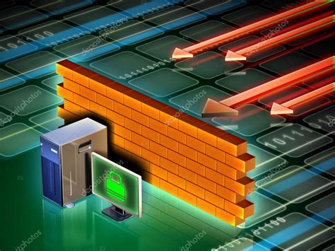 computer firewall stock photo  andreus