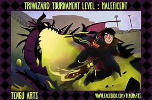 Triwizard Tournament Level : Maleficent by Tengu-Arts on ...