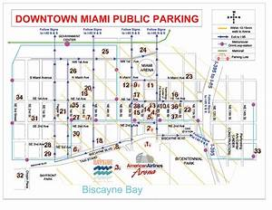 Downtown Interactive Parking Map Miami Heat