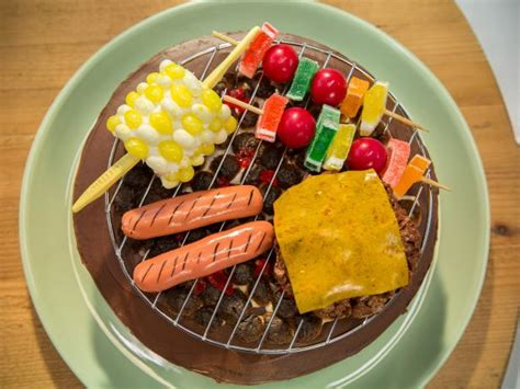 grill  cake recipe food network