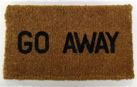 Doormat Go Away by Go Away Doormat