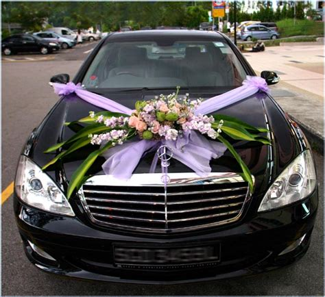wedding car decorations wedding flowers