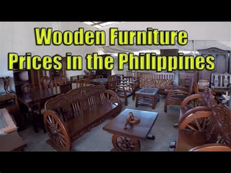 wooden furniture prices philippines youtube