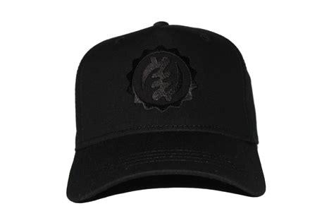 Black On Black Baseball Cap