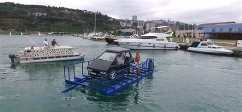 How To Build A Boat Prototype by Turn Your Car Into A Boat Turkish Engineer Builds Drive
