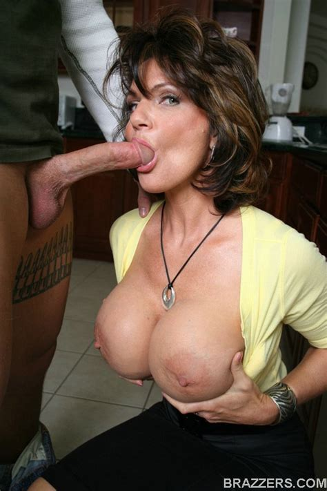 Mature Deauxma With Big Tits Sucking A Cock And Gets