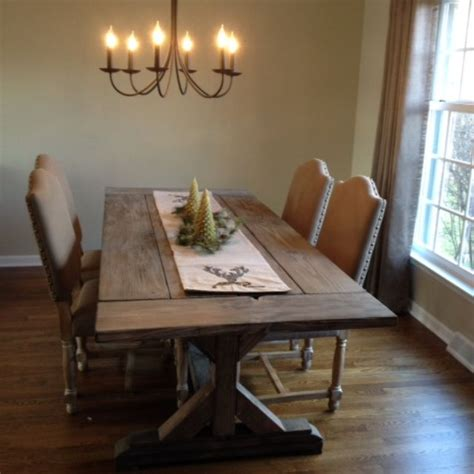 10 Ft Farmhouse Table Stunning Astonishing Ft Dining
