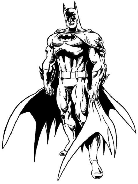 dibujos de batman  colorear  kids page