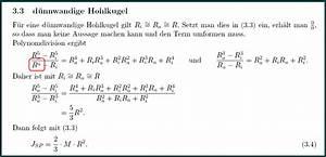 Halbkugel Berechnen : mp ein paar massen tr gheitsmomente matroids matheplanet ~ Themetempest.com Abrechnung