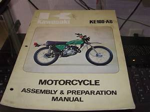 Kawasaki Assembly  U0026 Preparation Manual Ke100