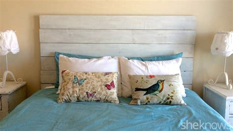 diy headboard wood diy wooden headboard makes your bedroom instantly farmer chic