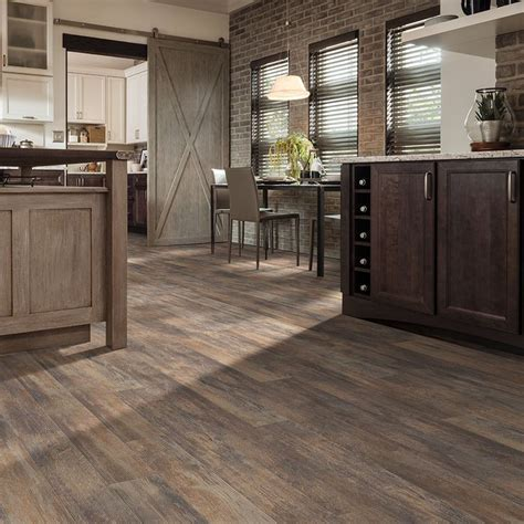 Style Selections 5.43 in W x 47.72 ft L Spalted Woodbark