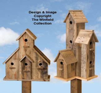Birdhouse Wood Patterns Pallet Plans Set
