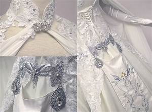 Zelda wedding dress details by firefly path on deviantart for Zelda wedding dress
