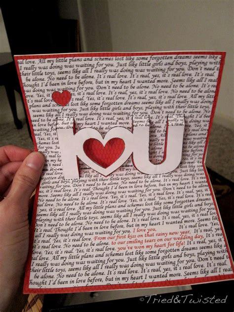 attractive handmade valentine card ideas