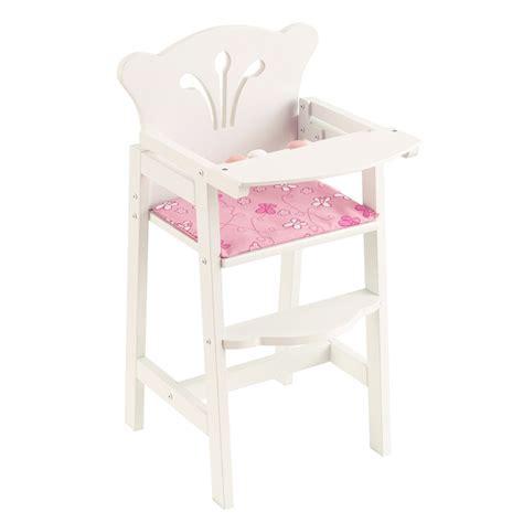 chaise haute poup 233 e kidkraft king jouet accessoires de