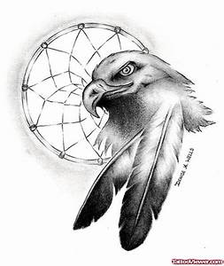 Native American Eagle Dreamcatcher Tattoo Design | Tattoo ...