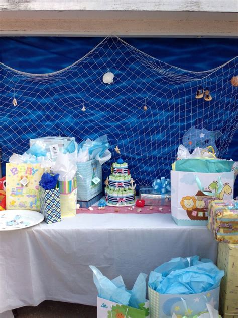 nautical baby shower decor 17 best images about baby shower ideas on