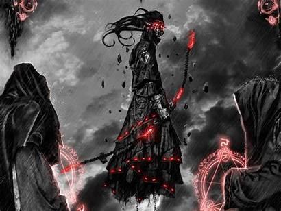 Dark Sorcerer Archers Wallpapers Demon Desktop Fantasy