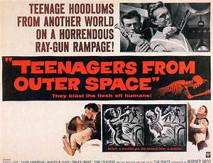 Teen agers from outer space